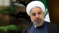Ruhani:Bercam İran'a dayatılan yaptırımları bertaraf etti