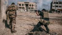 IŞİD Teröristleri Eski Musul'daki El-Nuri Camiinde Kuşatıldı