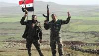 Suriye Ordusu Palmira'da Gaz Ve Petrol Zengini Kasabaya Ulaşmak Üzere