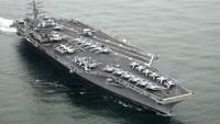 Sipahiler Donanması: ABD uçak gemisi İran savaş gemisine yaklaştı