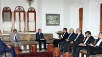 Lübnan'ın eski Cumhurbaşkanı Emin Cemil: İran Lübnan'ın ağabeyidir