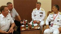 İran Deniz Kuvvetleri Komutanı Amiral Seyyari 9 ülkenin komutanları ile görüştü