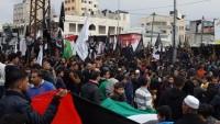 Gazze'de milyonlar Kudüs için sokağa döküldü