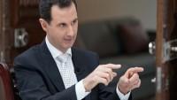 Beşar Esad:Türkiye, ABD ve Arabistan orduları olan teröristlerle savaşıyoruz