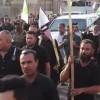 Basra halkı İran'a destek için sokaklara döküldü