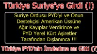 Türkiye PYD'nin İmdadına mı Gitti?