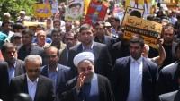 Foto: İran'da Devlet Erkanı Kudüs Günü Yürüyüşlerine Katıldı