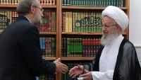 Meclis Başkanı Laricani: İran'ın baskısı Arabistan'ı cevap vermeye mecbur bıraktı