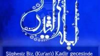 KADİR SURESİ (1-5) / TASARIM