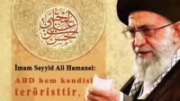 Tasarım: İmam Ali Hamanei: ABD Teröristtir!