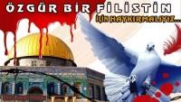 Filistin için vargücümüzle ÖZGÜRLÜĞÜ haykırmalıyız / Tasarım