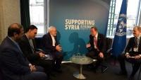 Zarif BM Genel Sekreteri ile görüştü