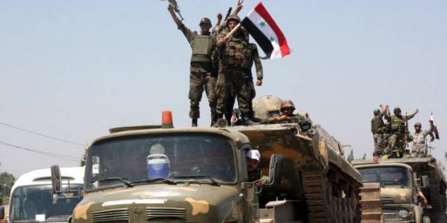 Suriye Ordusu Terörist Temizliğine Devam Ediyor…