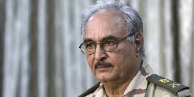 Libya'da Halife Hafter için yakalama kararı
