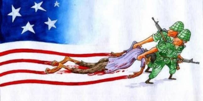 """Katliamların Ülkesi """"ABD"""" Kendi İçindede Boş Durmuyor…"""
