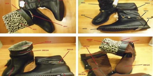 """İki gün önce haberini verdiğimiz """"kanserojen maddeli ayakkabıların""""fotoğrafları yayınlandı"""
