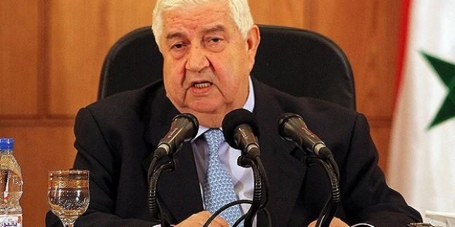 Velid el Muallim: Suriye Herhangi Bir Dış Müdahaleden Uzak Bizzat Suriyeliler Arasında Olacak Bir Siyasi Çözüme İnanıyor…