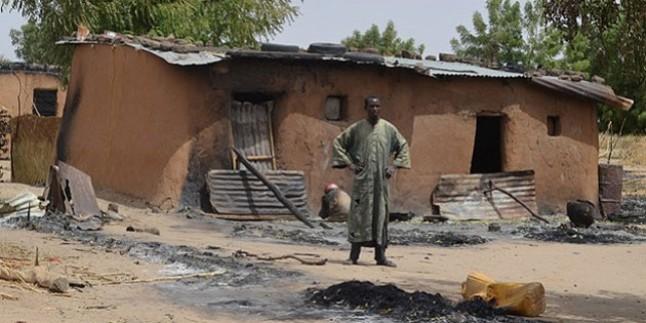 Siyonistlerin maşalarından olan Boko Haram örgütü yine kan döktü