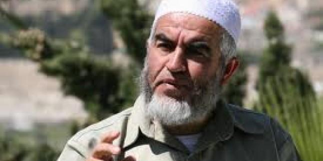 Siyonist İsrail, Raid Salah'ın seyahat yasağı yine uzattı