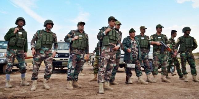 Kobaniye yeni peşmerge ordusu.