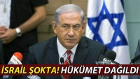 Korsan İsrail'de Erken Seçim Tarihi Belli Oldu…