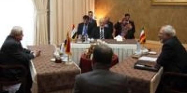 İran, Suriye ve Irak dışişleri bakanları arasında Tahran'da ortak oturum