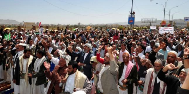 Güney Yemenliler bağımsızlık eylemi yaptı