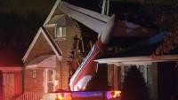 ABD'de Evin Üzerine Uçak Düştü…