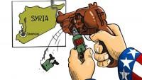 Karikatür: ABD Güdümlü Teröristlerin Suriye'yi Özgürleştirmesi (!)