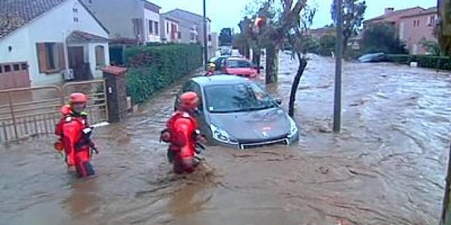 Fransa'ya Sel Baskını: En Az 5 Ölü…