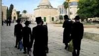 Radikal Yahudi Gruplar Bu Sabah Mescid-i Aksaya Baskın Düzenlediler…