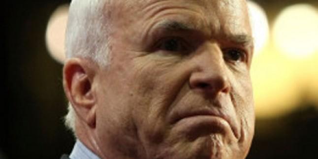 McCain: Filistin'i Asla Tanımayacağız…