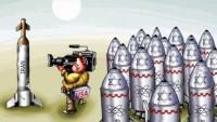 Karikatür: ABD Medyası Siyonizmin Nükleer Silahlarını Görmezden Geliyor