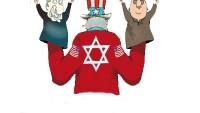 Karikatür: Siyonizmin Kuklaları