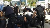 IŞİD Protestosuna Polis Saldırısı