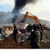 Siyonist İşgal Rejimine Bağlı Ekipler Ruhsatsız İddiasıyla Filistinlilerin Evlerini Yıktı…