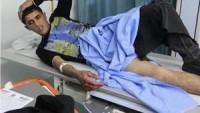 Dün Gece Siyonist İşgal Güçlerinin Saldırısında 2 Filistinli Genç Yaralandı…