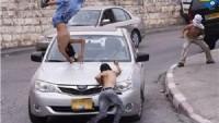 Siyonist Yerleşimci, Kalkiliya Kentinde Filistinli iki kardeşe ve eşlerine çarparak kaçtı.