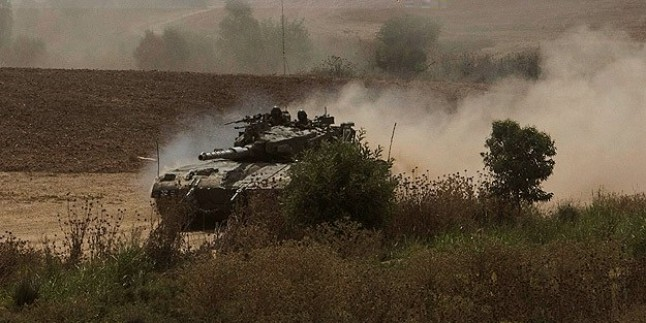 Siyonist İsrail Gazze'de tarım alanlarına ateş açtı