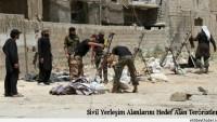 Teröristler Tarafından Şam Kırsalına Roketli Saldırı Yapıldı…