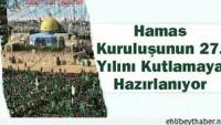 Hamas 27. Kuruluş Yıldönümü İçin Gazze'de 100 Bin Kişilik Bir Etkinliğe Hazırlanıyor…