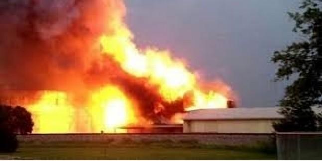 Bahreyn'de  patlama