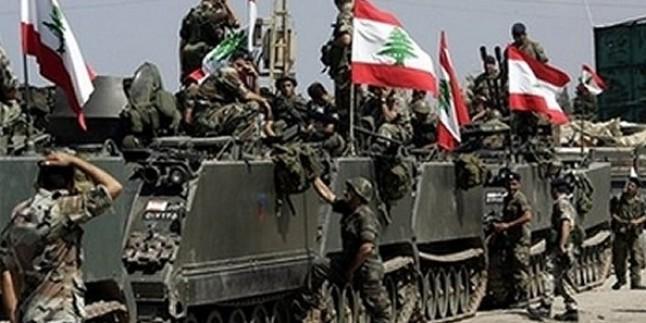 Lübnan Ordusu Teröristleri Hedef Aldı…