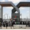 Refah sınır kapısı 85 gün aradan sonra tekrar açıldı