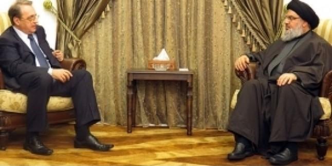 Seyyid Hasan Nasrallah Rusya Dışişleri Bakan Yardımcısını Kabul Etti…