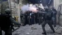 Korsan İsrail Polislerinin Müdahelesi Sonucu Bir Filistinli Şehid Oldu…