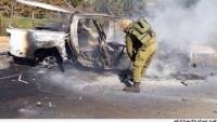 Foto: İmha Edilen Siyonist Askerlerin Araçları…