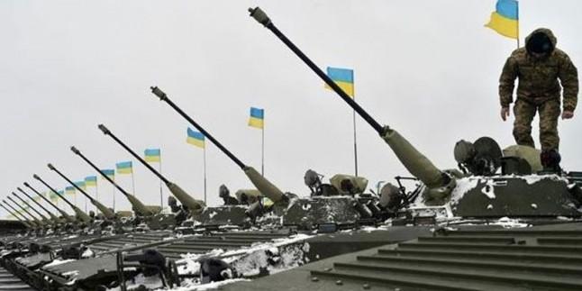 Ukrayna'da askeri kaza