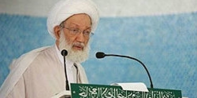 Şeyh Abdullah Dakak Bahreyn Rejimini Kınadı…