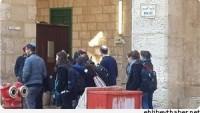 Yahudi Yerleşimciler, Bu Sabah Mescid-i Aksa'ya Baskın Düzenledi…